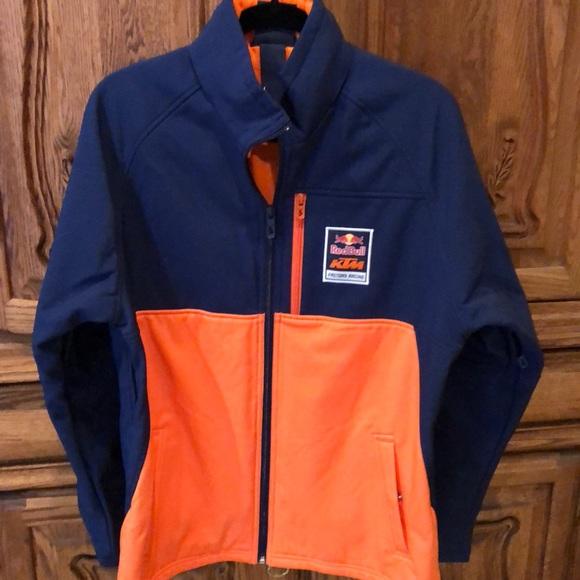 4d7bbb62ed Jackets & Coats   Ktm Redbull Factory Racing Softshell Jacket   Poshmark
